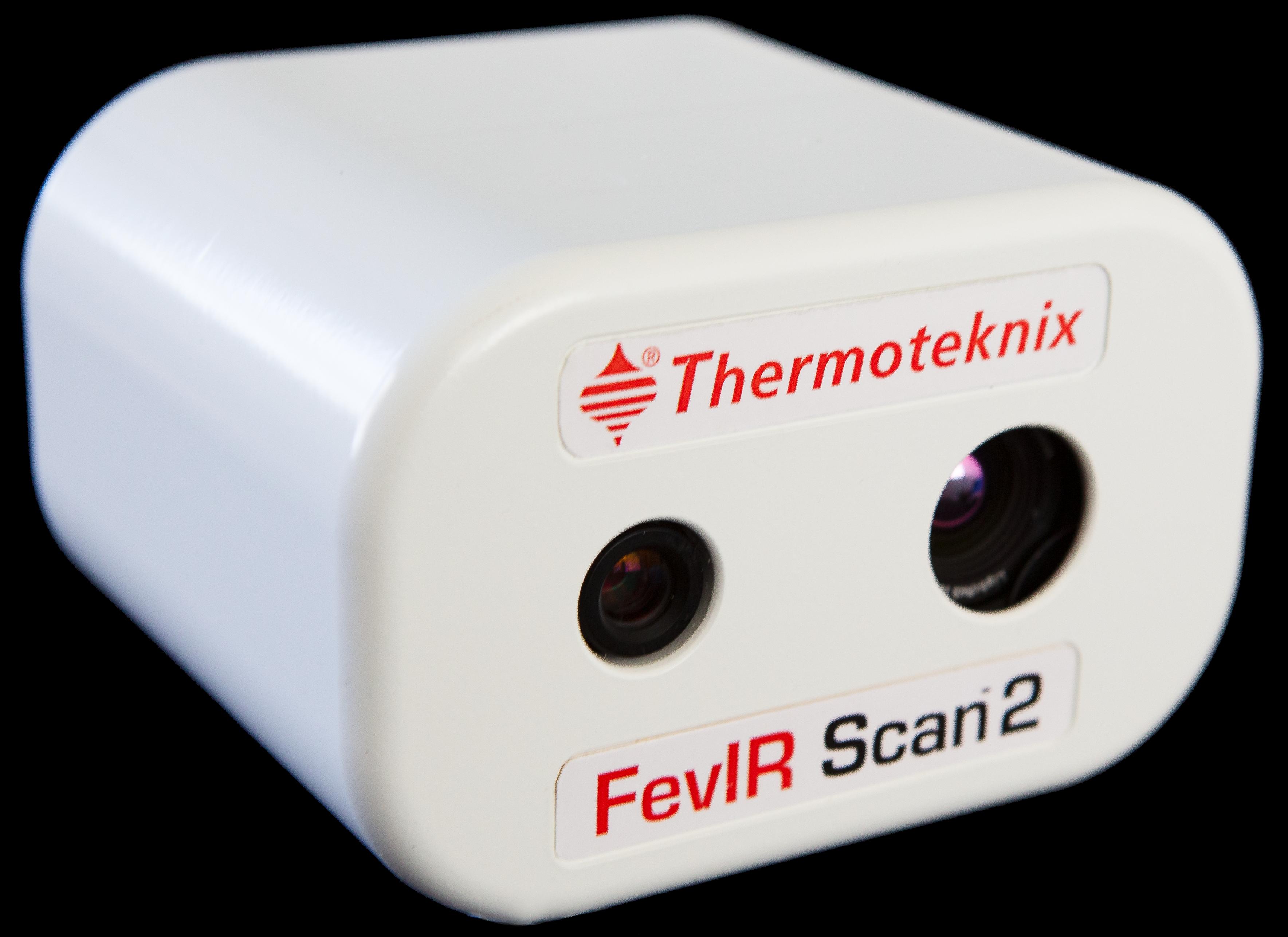 Una foto de cerca de un escáner FevIR Scan 2.