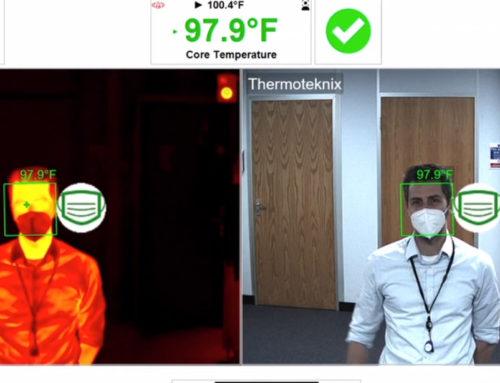 Detectar cubrebocas y temperatura de forma automatizada con FevIR Scan 2
